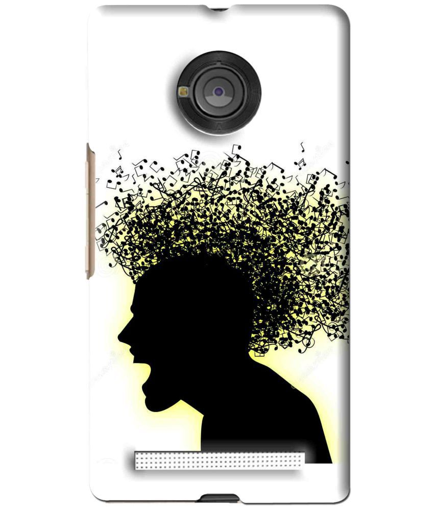 Micromax Yu Yuphoria Printed Cover By Snooky