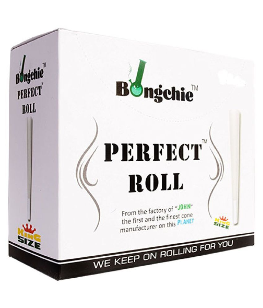 Bongchie /Perfact Roll/Bleached/King size/Box Of 60 Pcs
