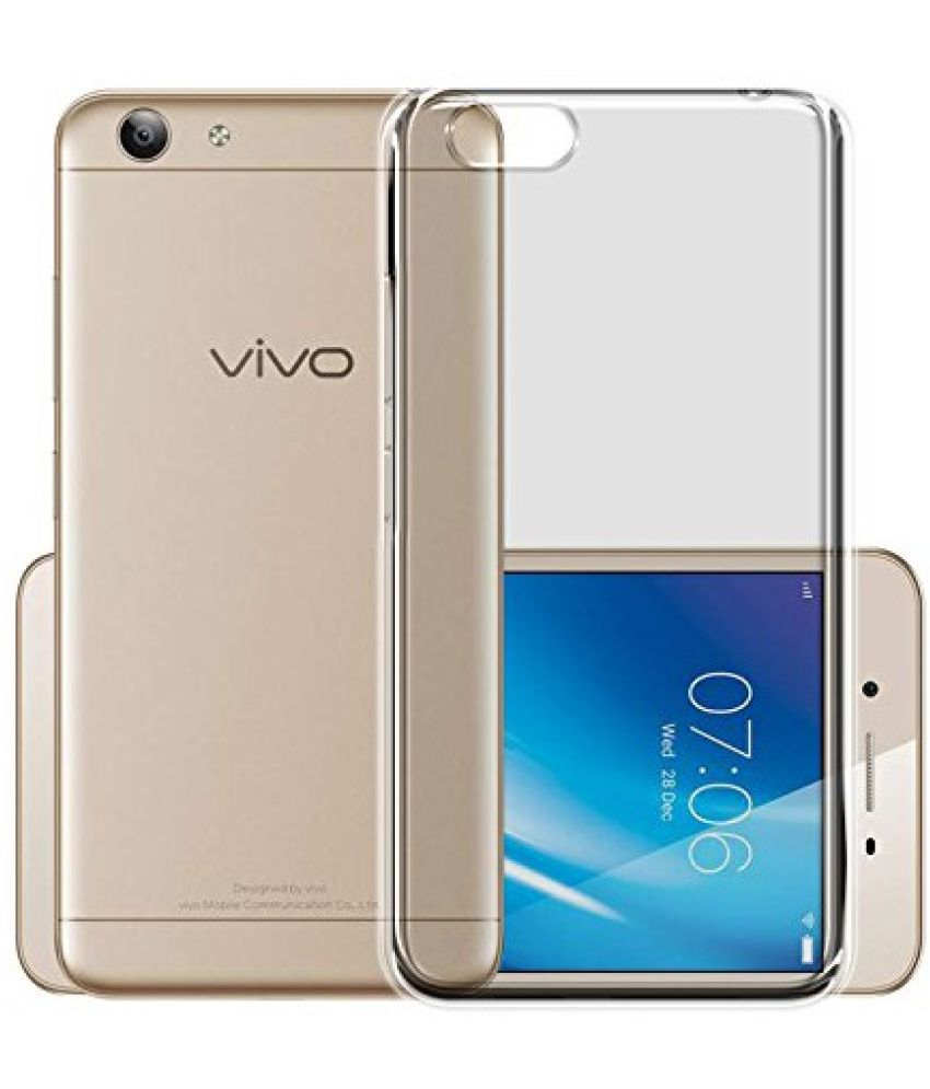 Vivo Y69 Soft Silicon Cases SpectraDeal - Transparent