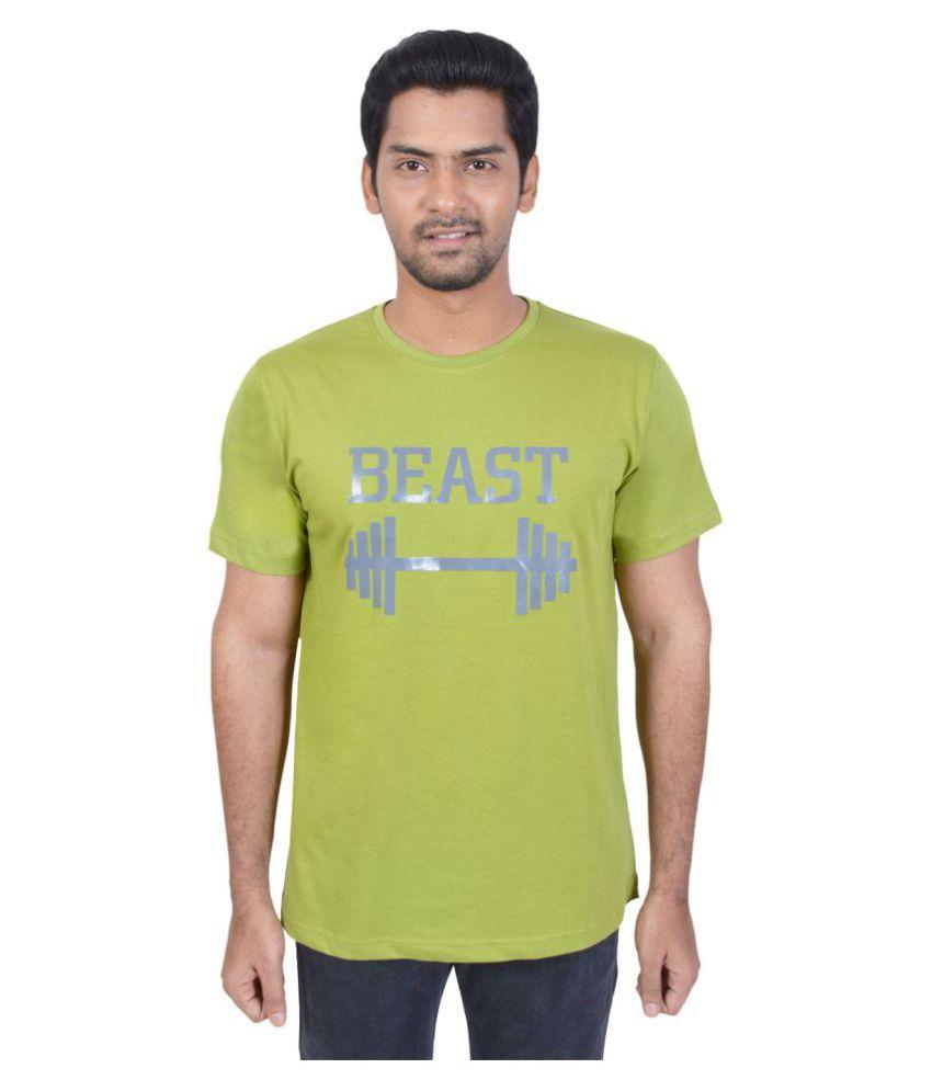 El Clima Green Round T-Shirt
