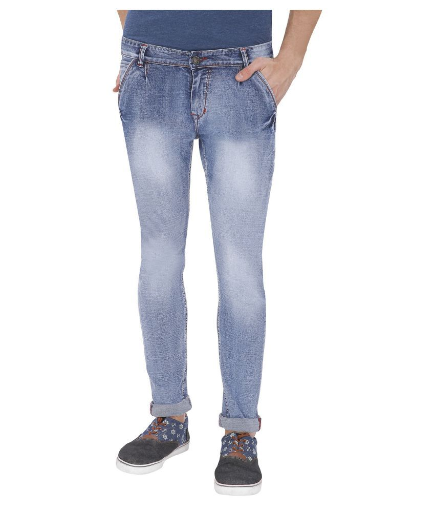 gradely Light Blue Slim Jeans
