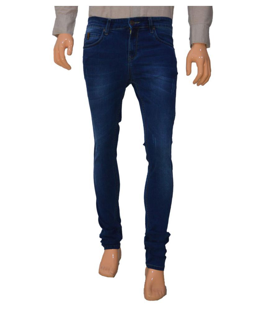 360 Degree Blue Slim Jeans
