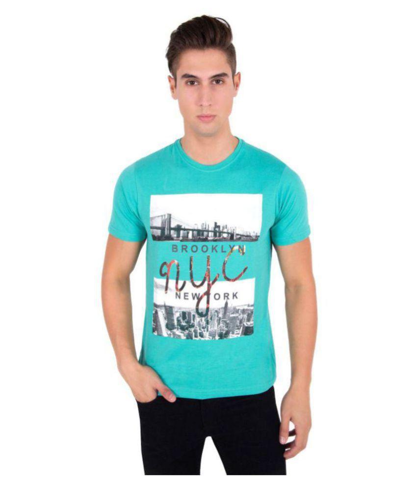 Zoravie Green Round T-Shirt