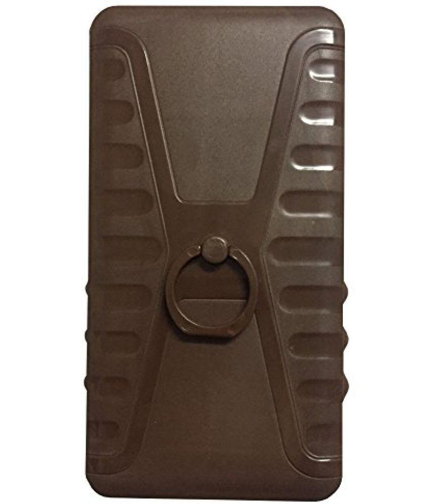 Micromax Bolt D321 Plain Cases Aravstore - Brown