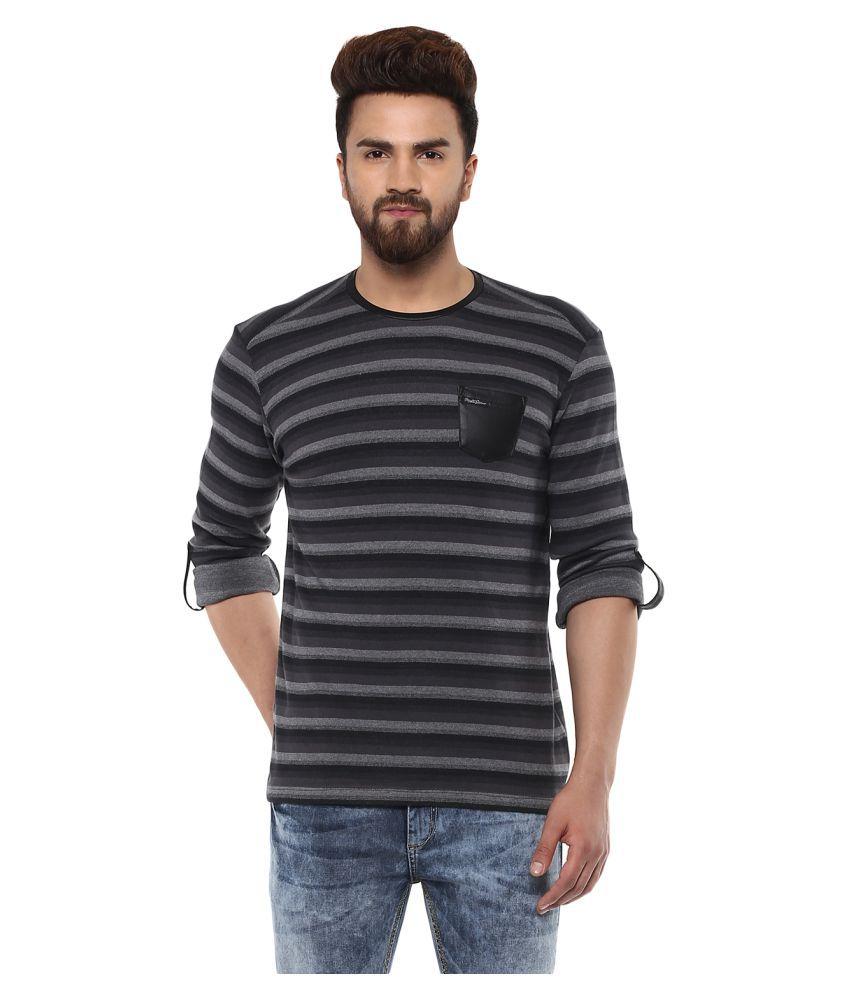 Mufti Black Round T-Shirt