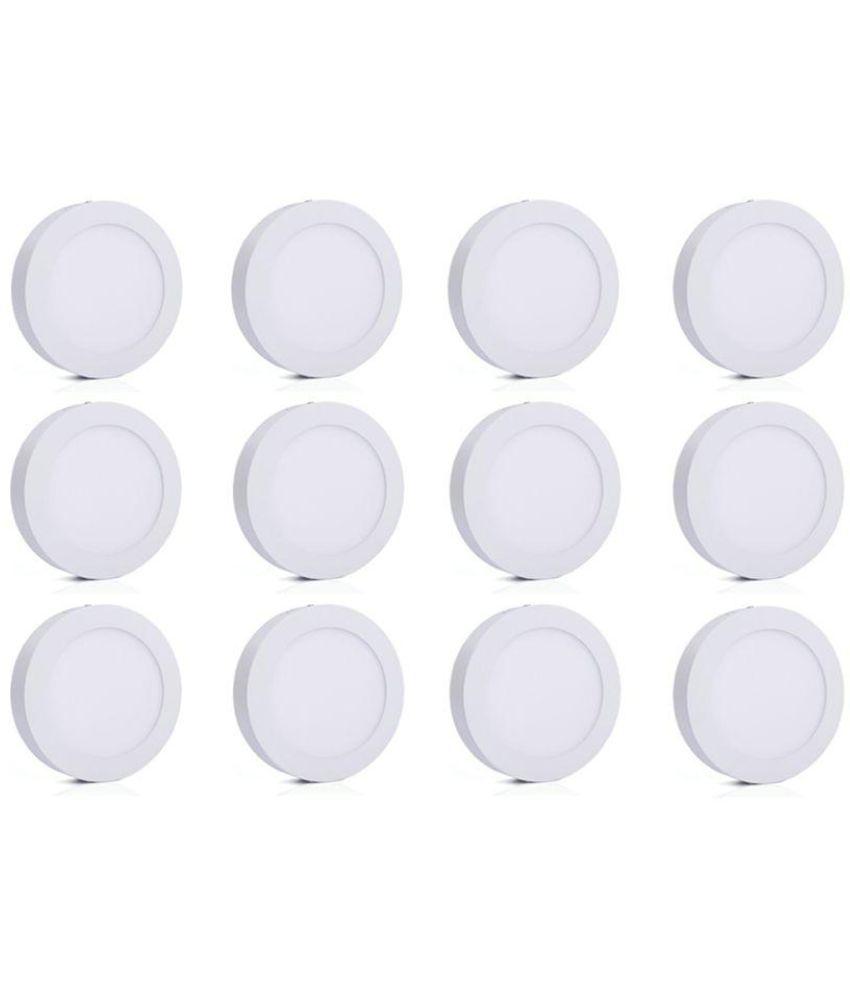 Bene 6W Round Ceiling Light 12 cms. - Pack of 12