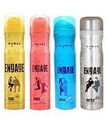 engage woman 165 ml deodorant {pack of 4}
