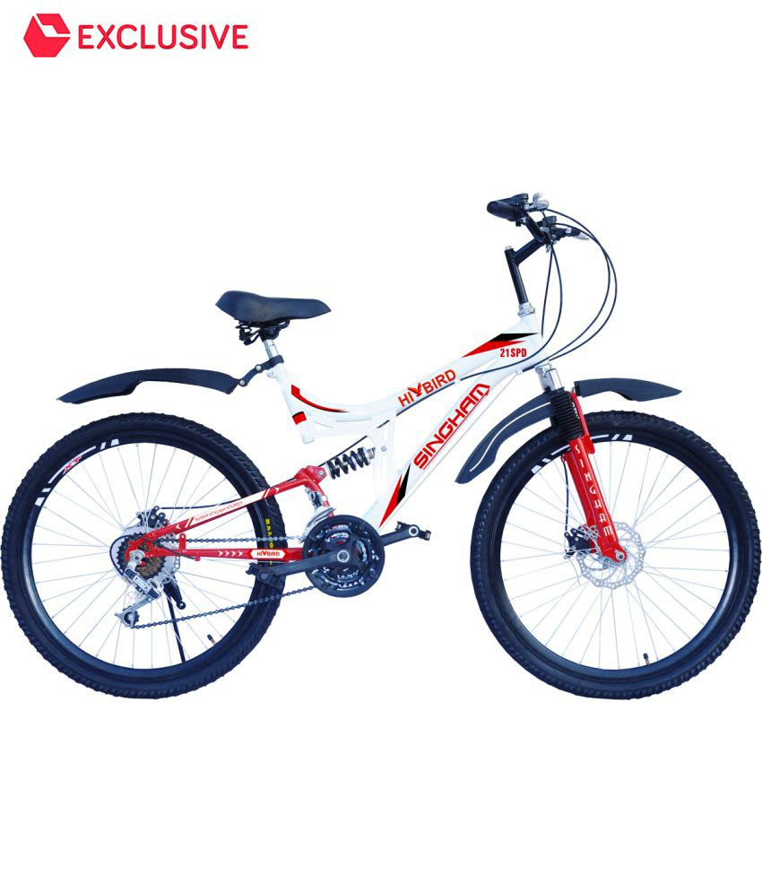 ae84b096211 Hi-Bird Singham 21 Speed Double Disc Brake 26 Inch Bicycle Adult Bicycle/Man /Men/Women: Buy Online at Best Price on Snapdeal