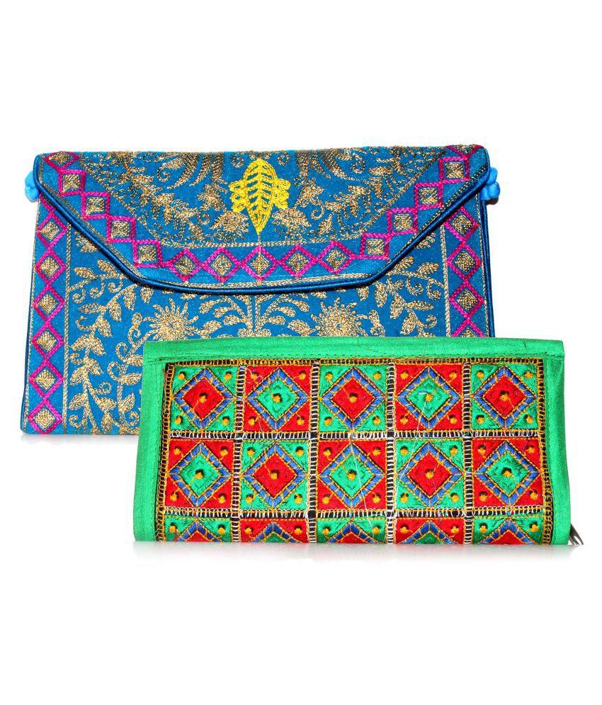 Indian Sparrow Multi Cotton Handheld