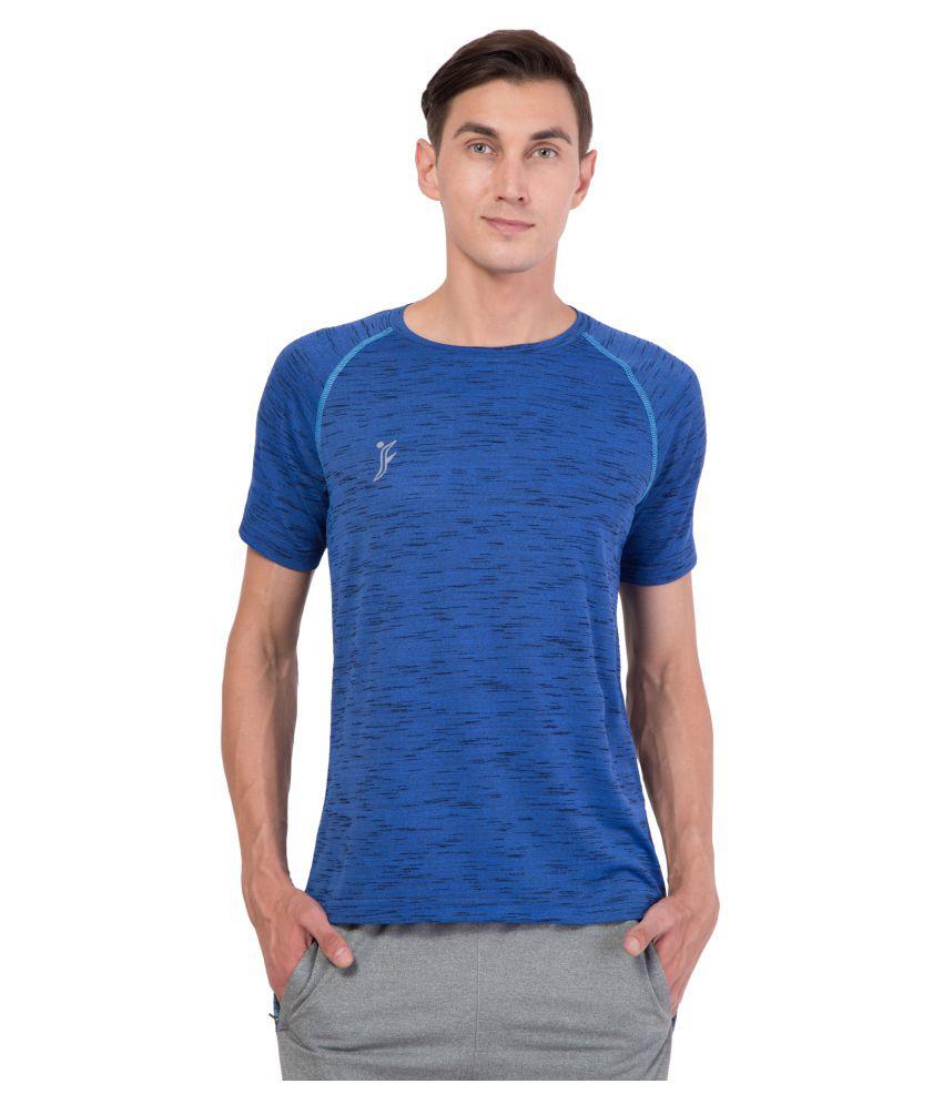 FINO Blue Round T-Shirt