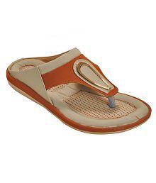 low price for sale Khadim's Brown Flat Slip-on & Sandal buy cheap supply 0JEAG