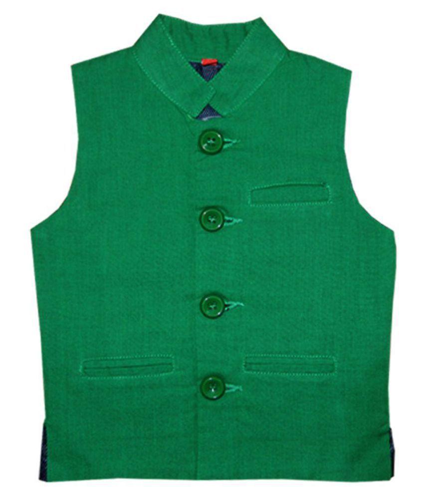 503aaa23ae0 Kooka Kids Sleeveless Party Wear Boys Waist Coat - Buy Kooka Kids Sleeveless  Party Wear Boys Waist Coat Online at Low Price - Snapdeal