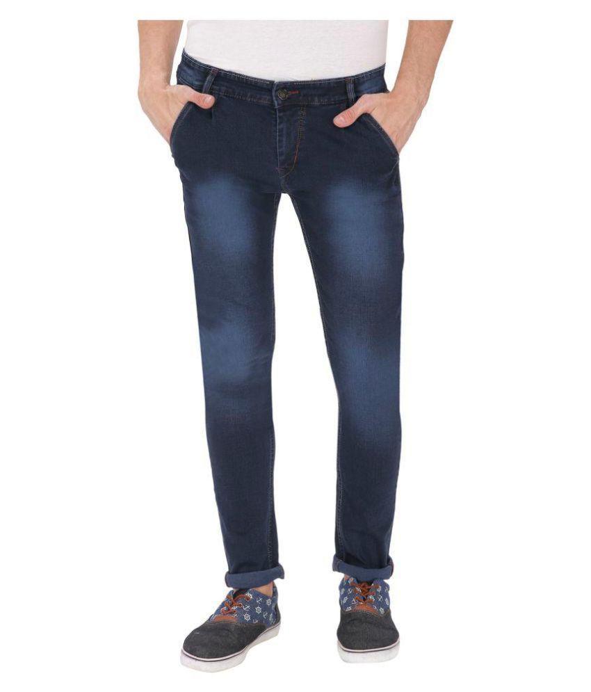 gradely Dark Blue Slim Jeans