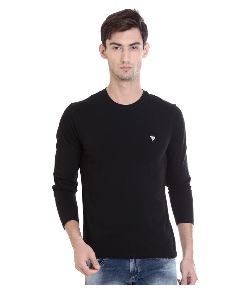 HOLS Black Round T-Shirt