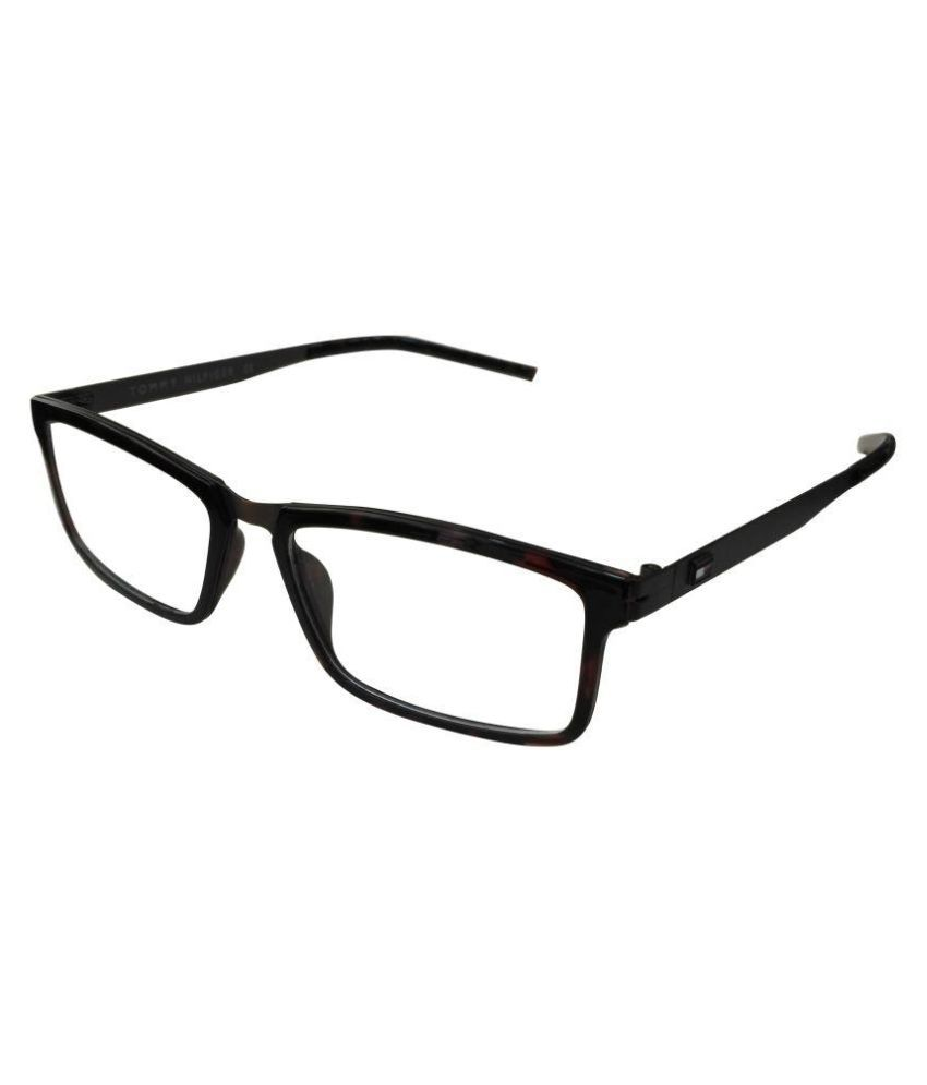 Tommy Hilfiger Brown Rectangle Spectacle Frame TH6000 C5 - Buy Tommy ...