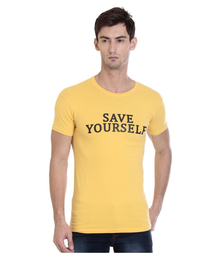 ROCX Yellow Round T-Shirt