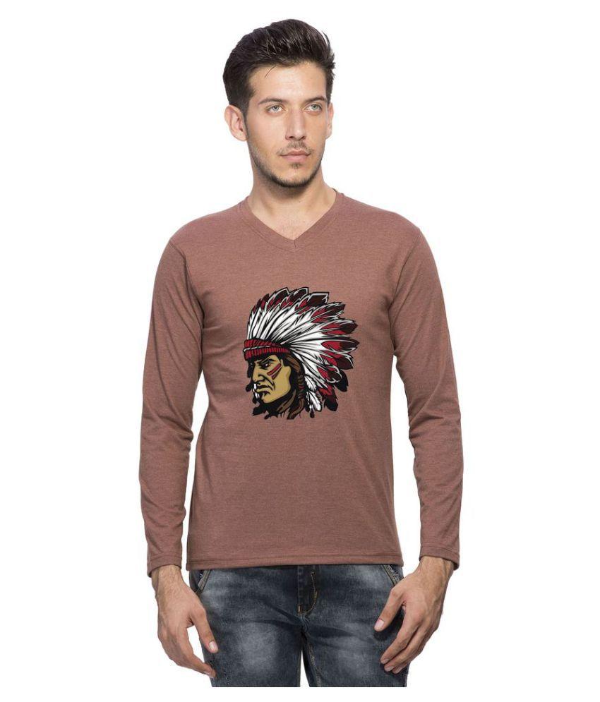 clifton Brown V-Neck T-Shirt