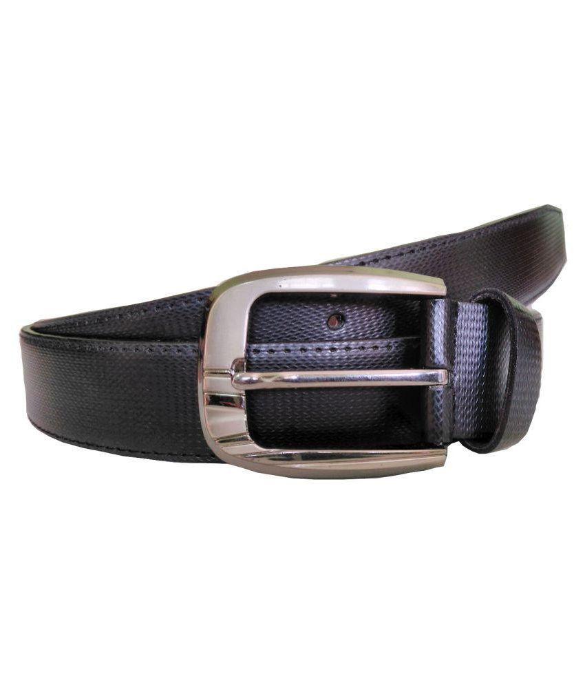 ZA Black PU Formal Belts