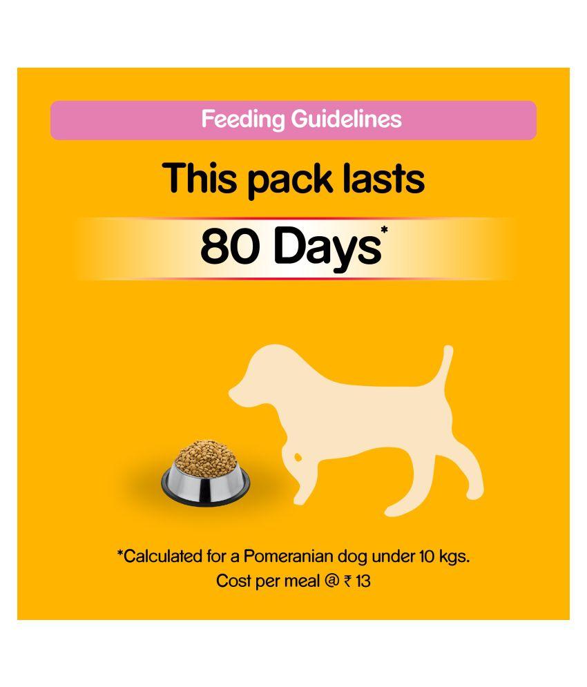 Pedigree Dry Dog Food Feeding Guide