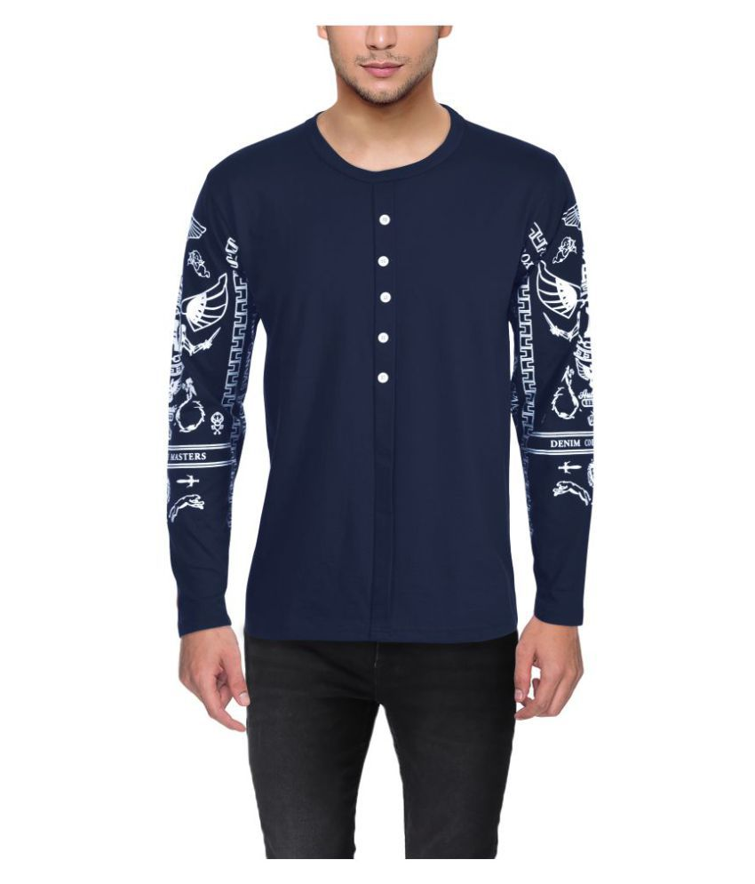 FIT-7 Blue Round T-Shirt