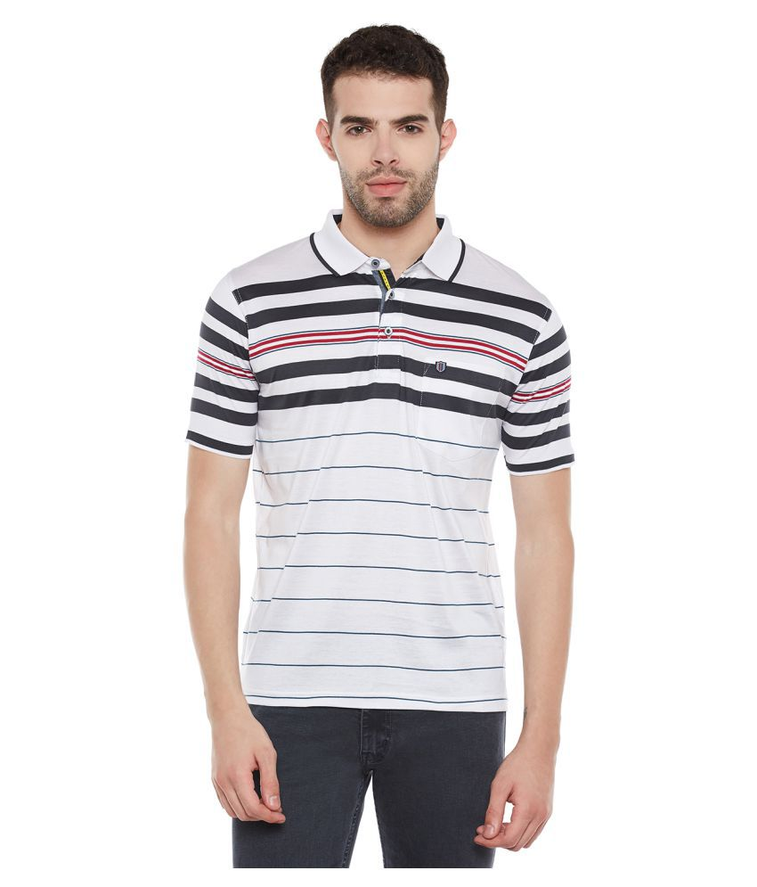 Duke White Round T-Shirt