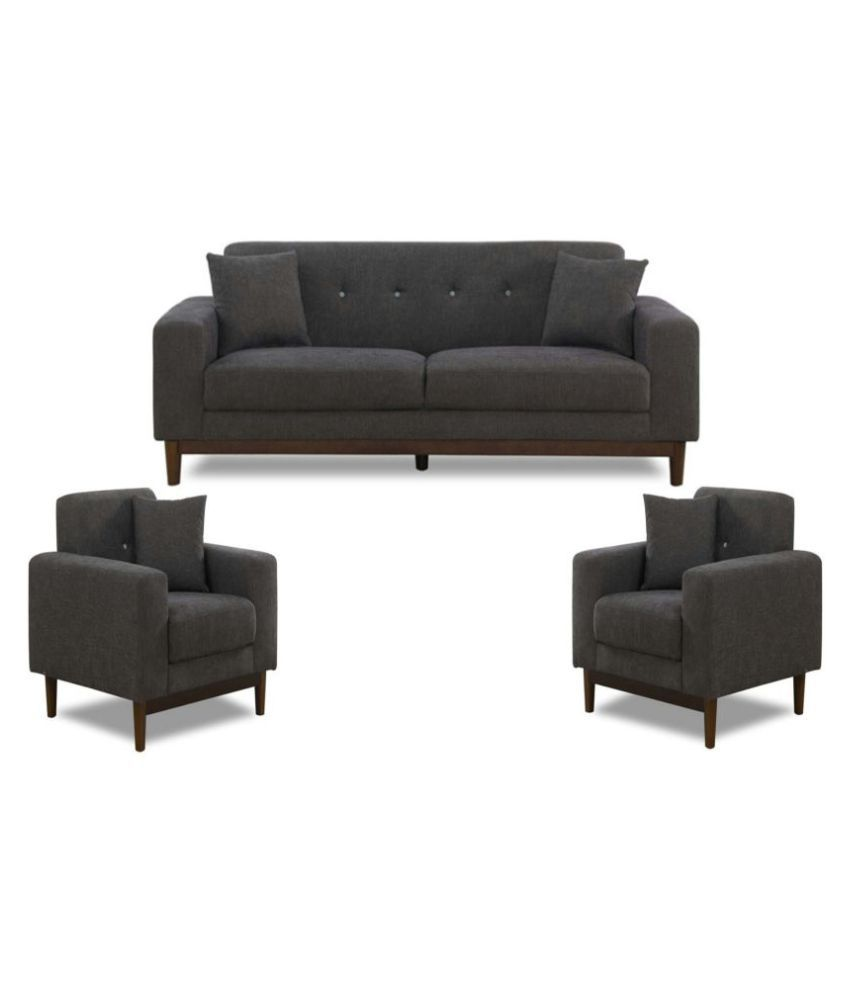 fabbulls demyan 3 1 1 sofa set buy fabbulls demyan 3 1 1 sofa set online at best prices in. Black Bedroom Furniture Sets. Home Design Ideas