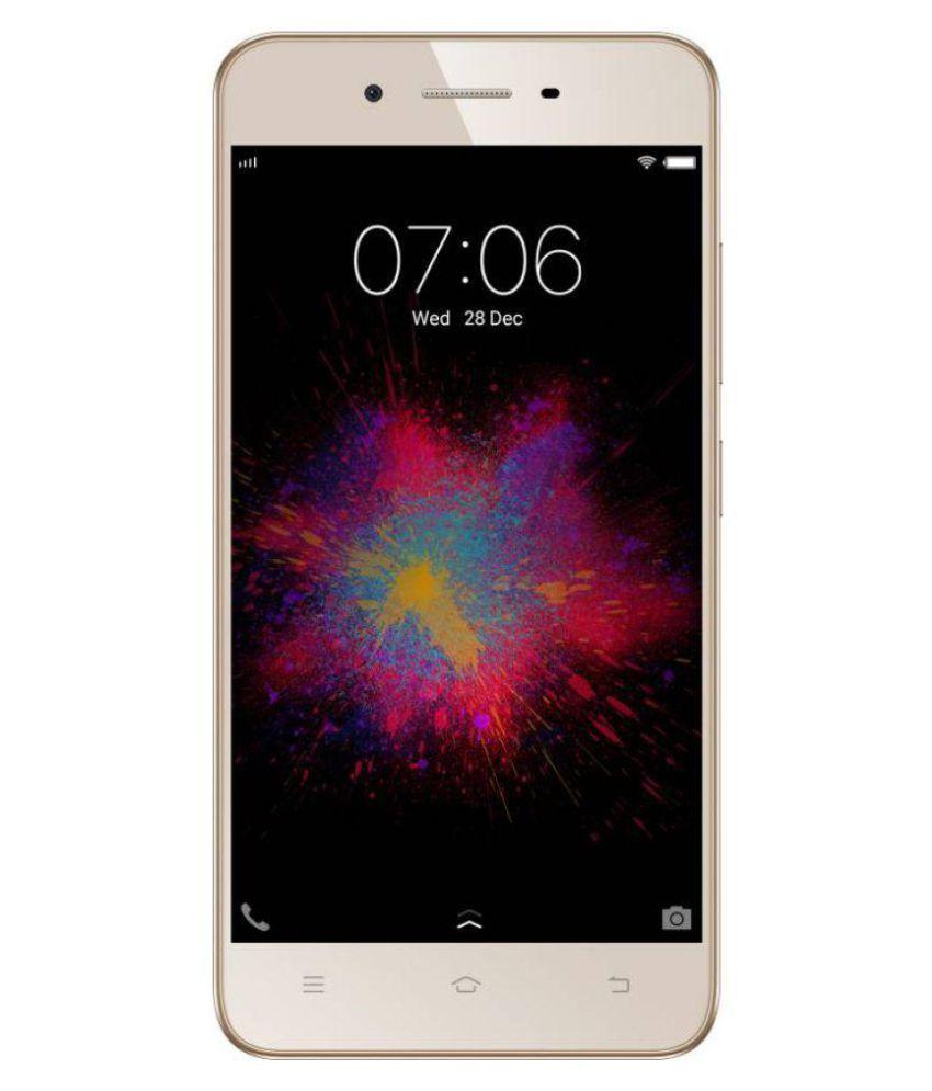Vivo 1606 ( 16GB , 2 GB ) Crown Gold Mobile Phones Online at