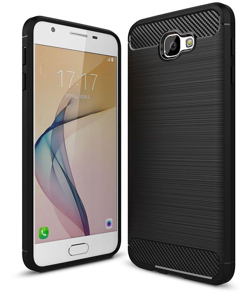 Samsung Galaxy J7 Prime Hybrid Covers Galaxy Plus   Black