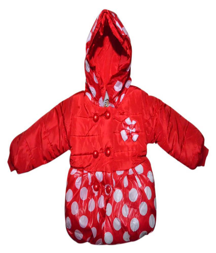 Finery Boy's & Girl's Self Design Winter Jacket