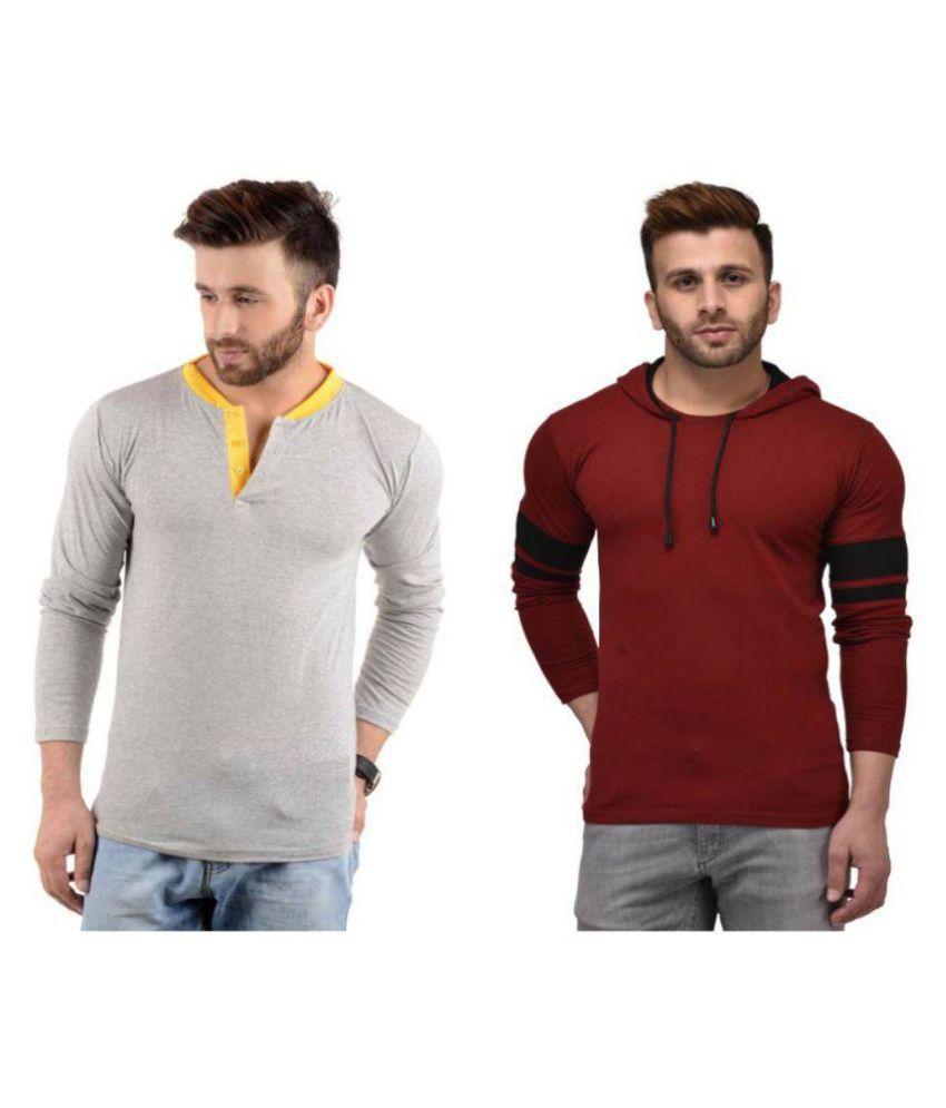 oovs Multi Round T-Shirt