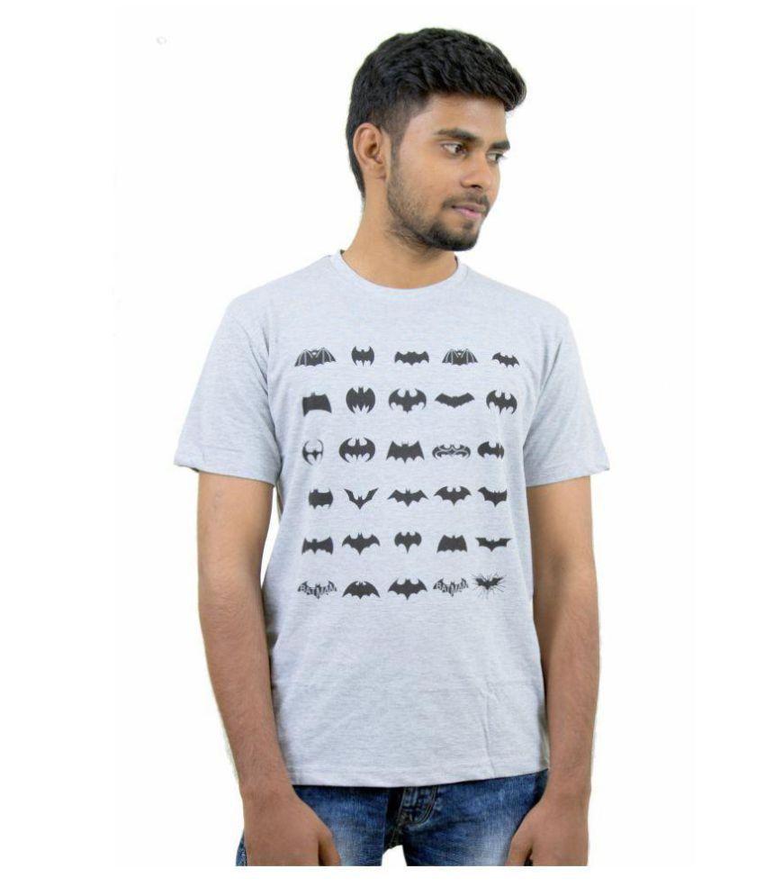Indian Aurochs Grey Round T-Shirt