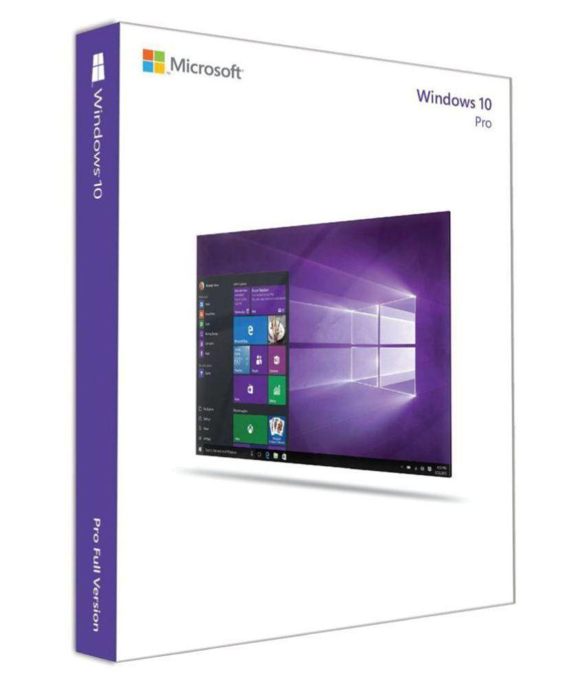 Microsoft Window 10 Pro Digital License Key 32/64 Bit ( Activation Card )