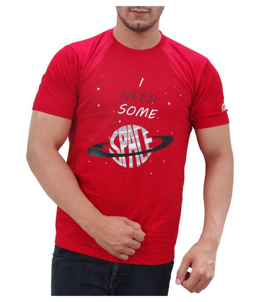 SUMMIT! Red Round T-Shirt