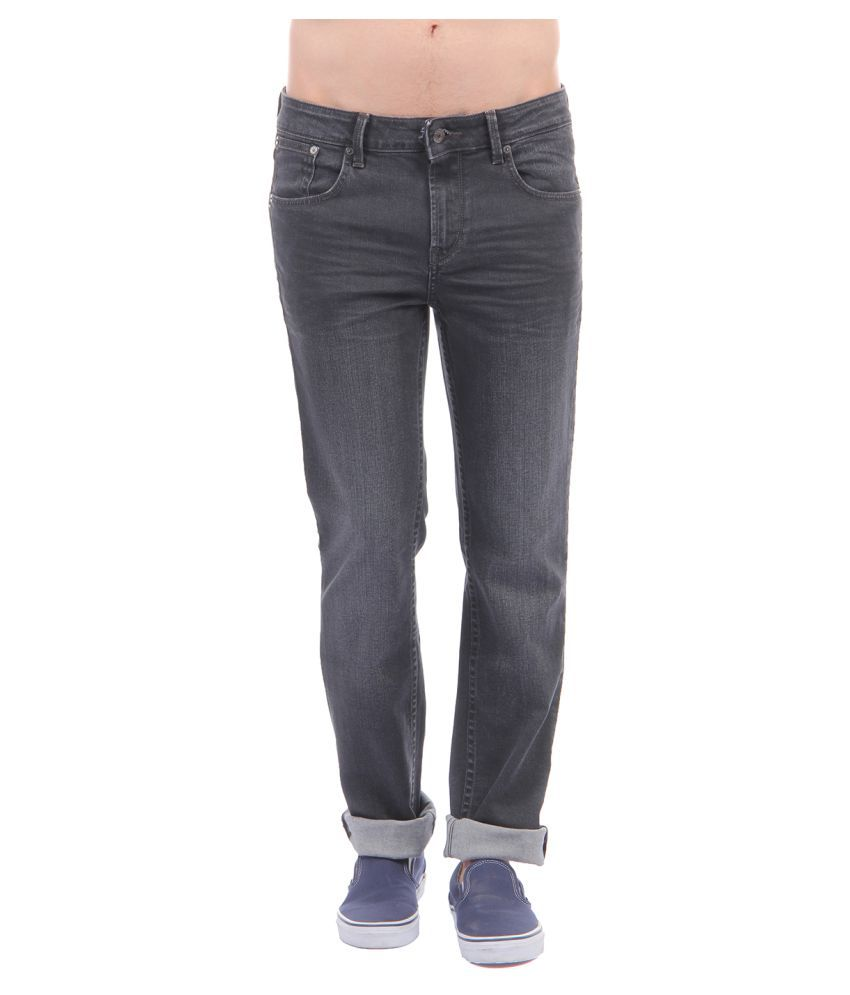 Nautica Black Regular Fit Jeans