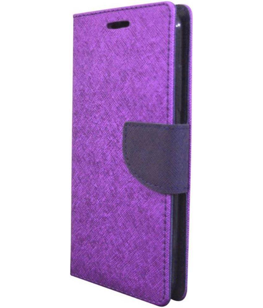 online retailer c5013 2fc5b Samsung Galaxy J5 Pro Flip Cover by Cel - Purple