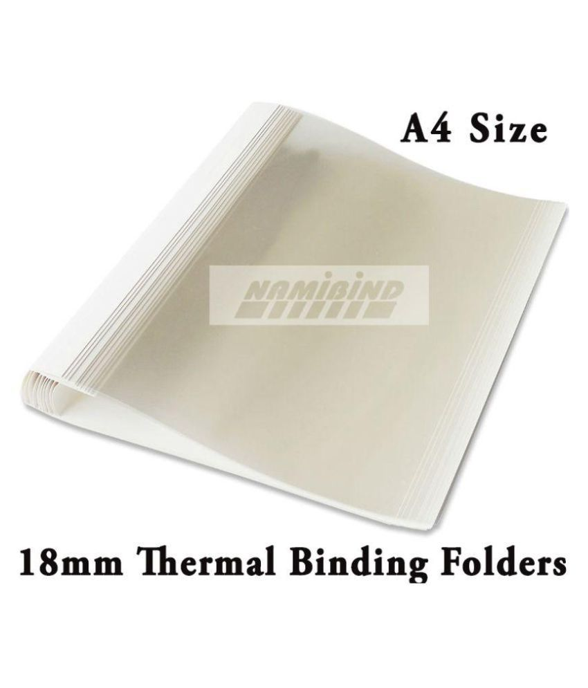 Namibind 18 mm Thermal Binding Folder or Cover