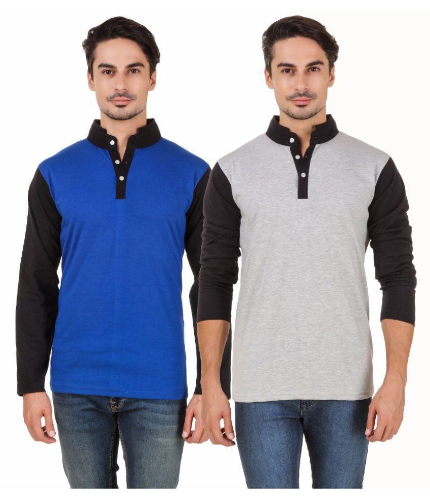 Aurelio Marco Multi Henley T-Shirt
