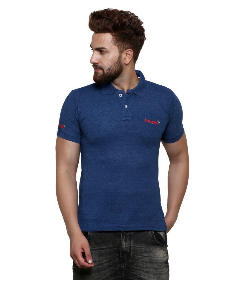 Strak Navy Round T-Shirt