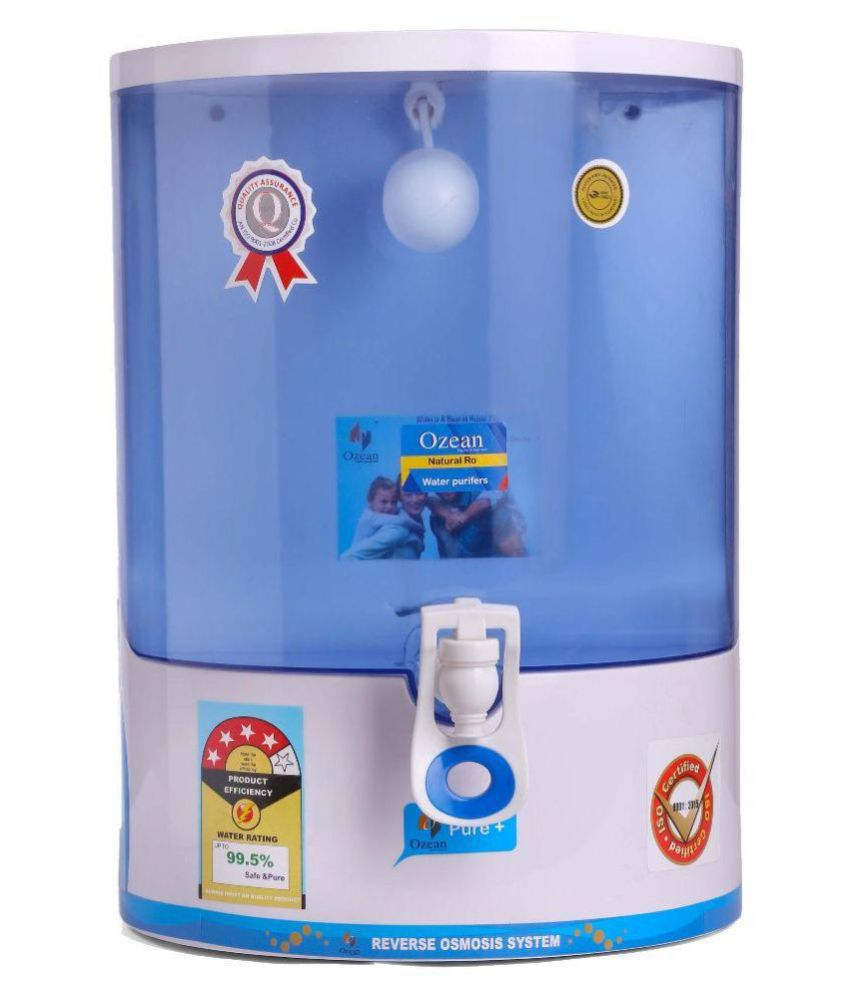 db742f94397 Ozean Pure+ 9 Ltr RO Water Purifier - Buy Online   Best Price