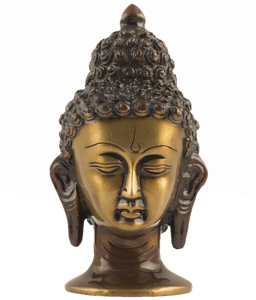 ISHVENA Buddha Brass Idol