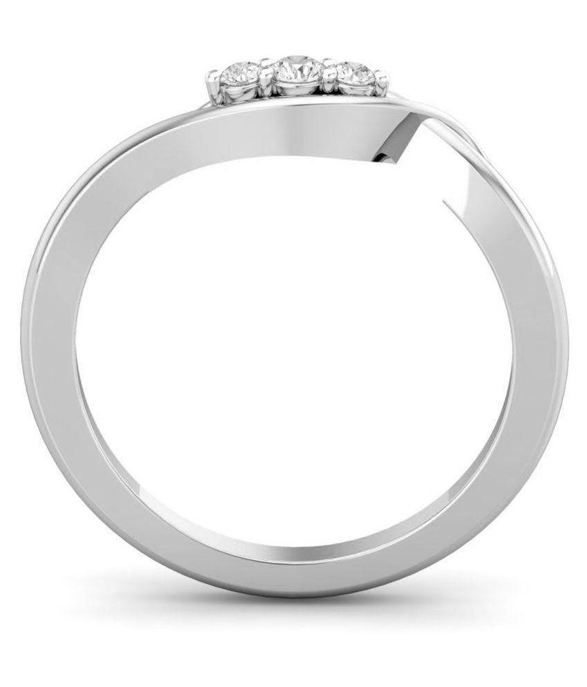 Chandrika Pearls 92.5 Silver Ring