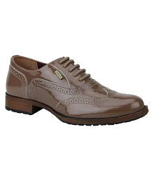 Woodland Maroon Casual Shoes