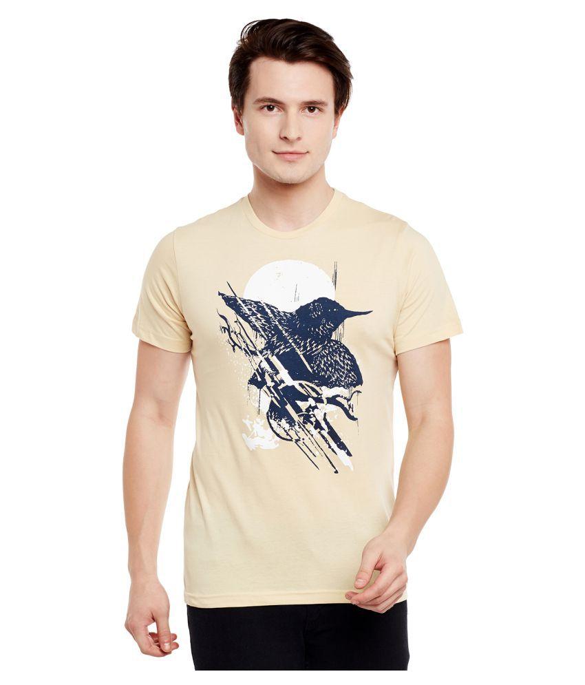 Monarch Beige Round T-Shirt