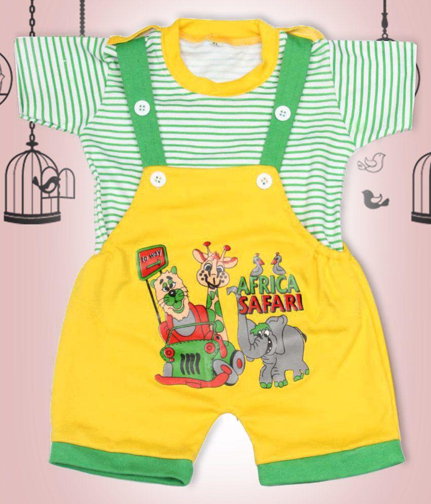 Babeezworld Baby Kids Cotton Multicolour Bodysuits