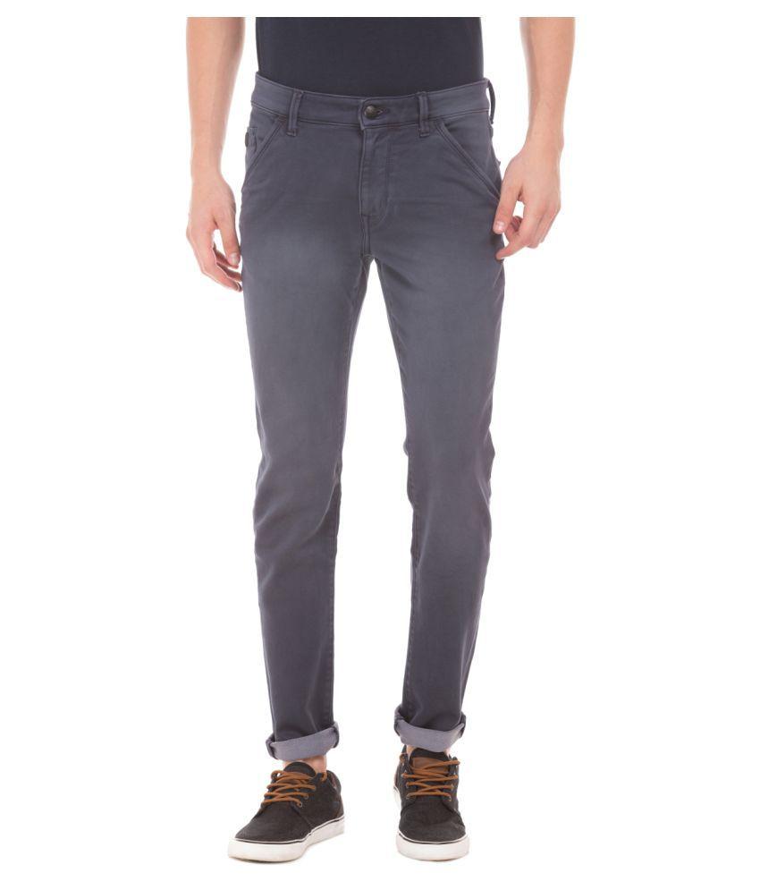 U.S. Polo Assn. Grey Slim Jeans