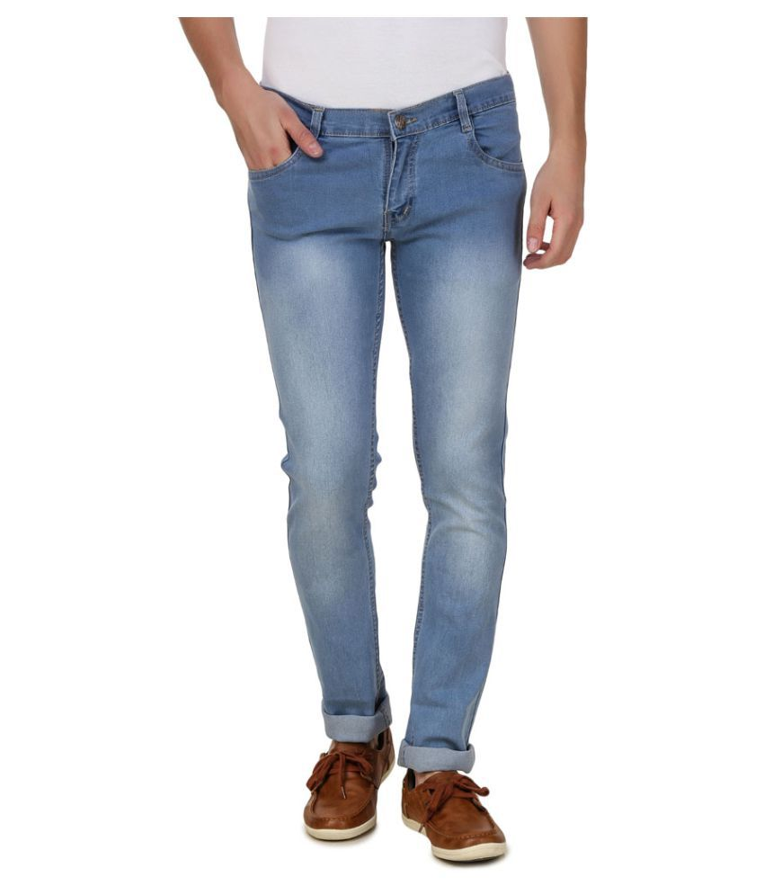 5ACE Light Blue Slim Jeans