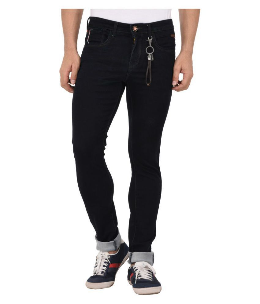 AFOX Dark Blue Slim Jeans