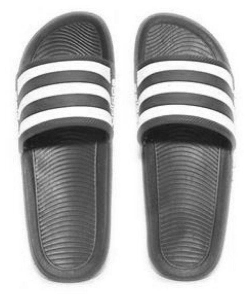 Adidas Adidas slider flip flop slipper Black Slide Flip flop outlet visa payment afX6GZ9K