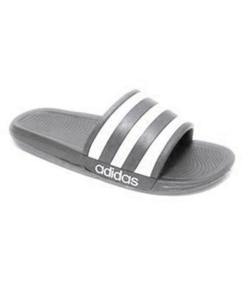 2bc61629eb Adidas Adidas slider flip flop slipper Black Slide Flip flop Price ...