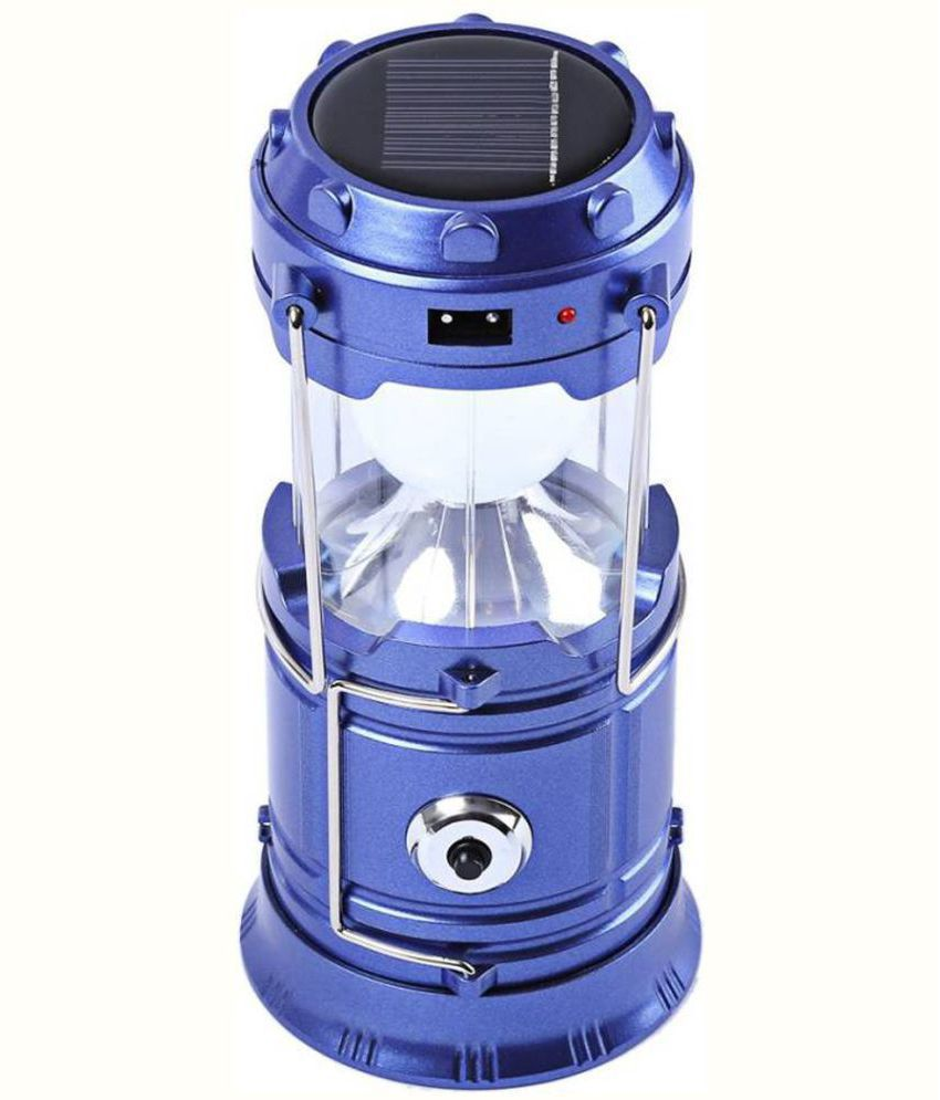 Aladdin Shoppers 7w Solar Lamp Blue Pack Of 1 Buy